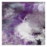Purple Atmosphere 2 Print by Jace Grey