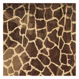Giraffe Pattern Poster by Jace Grey