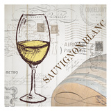 Vintage Wine 1 Posters by Carole Stevens
