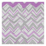 Orchid Gray Stripes 1 Prints by Diane Stimson