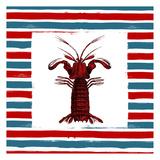 Lobster RWB Prints by Jace Grey