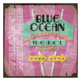 Blue Ocean Print by Jace Grey