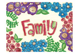 Family Poster by Erin Butson
