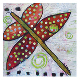 Confetti Dragonfly Posters by Shannon Crandall