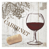 Vintage Wine 2 Prints by Carole Stevens