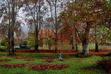 India Kashmir Autumn Photographic Print by Altaf Qadri