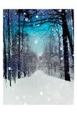 Snowhere Affiche par Tracey Telik