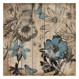 Wood Floral Posters by Jace Grey