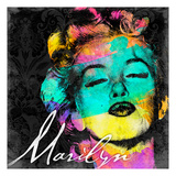 Marilyn Colorful Prints by Jace Grey