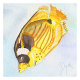 Tropical Fishy II Art by Beverly Dyer