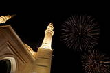 Lebanon Fireworks Photographic Print by Nabil Mounzer