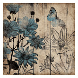 Wood Floral Small 3 Poster by Jace Grey