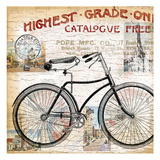Vintage Bicycle 1 Prints by  Ophelia & Co.