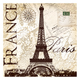 Fance Eiffel Prints by  Ophelia & Co.