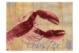 Nautical Lobster 3 Posters by Albert Koetsier
