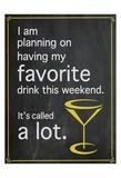 Favorite Drink Prints by Lauren Gibbons