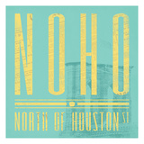 NOHO in Spring Posters by Jace Grey
