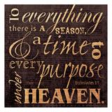 Season Ecclesiastes Posters by Carole Stevens