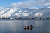 Fresh Snow Fall in the Dal Lake Region Photographic Print by Farooq Khan