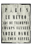 Paris Prints by Cynthia Alvarez