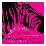 Zebra Dreams Prints by Taylor Greene