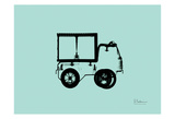 Toy Truck Prints by Albert Koetsier