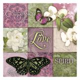 Carole Stevens - Berry Butterflies 2 - Reprodüksiyon