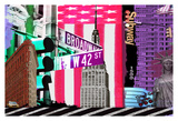 NY 42st Posters by Marilu Windvand