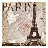 Paris Eiffel Prints by  Ophelia & Co.