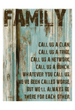 Family Grunge 3 Posters by Diane Stimson