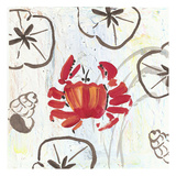 Crabby Beach Prints by Beverly Dyer