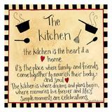 The Kitchen Posters van Dan Dipaolo