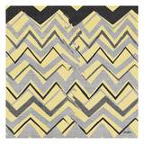 Yel Gray Stripes 1 Posters by Diane Stimson