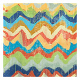 New Chevrons A Print by Cynthia Alvarez