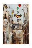 Street Affair Giclee Print by Sydney Edmunds