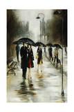 Brisk Evening Walk Giclee Print by Rikki Drotar