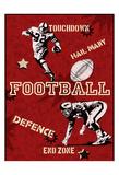 Fotball Poster av Tony Pazan
