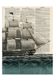 Ship 2 Prints by Tina Carlson