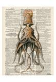 Squid 2 Kunst af Tina Carlson