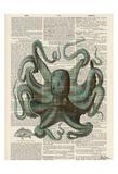 Octopus 1 Posters af Tina Carlson