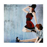 Carrying On Giclee Print by Clayton Rabo