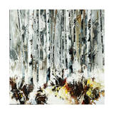 Into the Birches Giclee Print by Sydney Edmunds