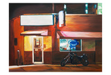 Biker Bar Art by Katrina Swanson