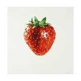 Strawberry Giclee Print by Sydney Edmunds