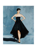 All About the Dress Giclee Print by Clayton Rabo