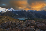 View From Sealy Range Photographic Print by Yan Zhang