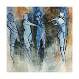 Gestures Giclee Print by Clayton Rabo