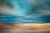 Der Strand Fotodruck von Ursula Abresch