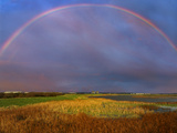 Somewhere Over The Rainbow Photographic Print by Adrian Campfield