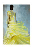 Yellow Dress Giclee Print by Kari Taylor